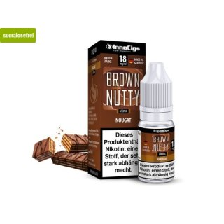 Brown Nutty Nougat Aroma - Liquid für E-Zigaretten 6 mg/ml