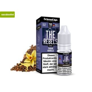 The Rebels Tabak Vanille Aroma - Liquid für E-Zigaretten 3 mg/ml