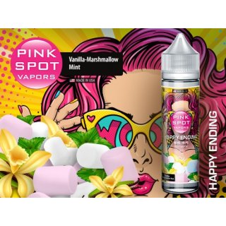Pink Spot Liquid für E-Zigaretten Shake and Vape 50/60ml E-Liquid Happy Ending