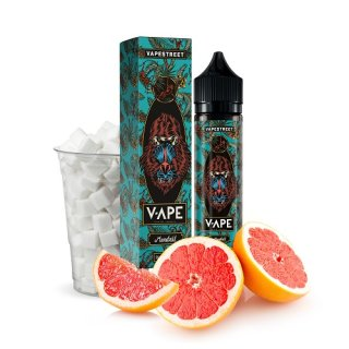 VapeStreet V-APE - Liquid für E-Zigaretten Shake and Vape 50/60ml E-Liquid Mandril 0mg