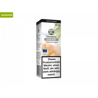SC Liquid/Tabak - 18mg Desert Safari Tobacco