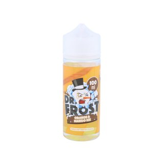 DR. FROST - Shake & Vape - E-Liquid - 100ml - 0mg Polar Ice Vapes - Orange Mango Ice