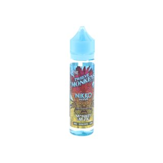 Twelve Monkeys - 50ml - 0mg NIKKO ICED